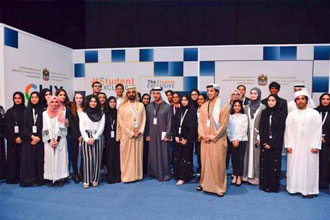 Next generation of sustainability leaders join the Student Exclusive at Abu Dhabi Sustainability Week